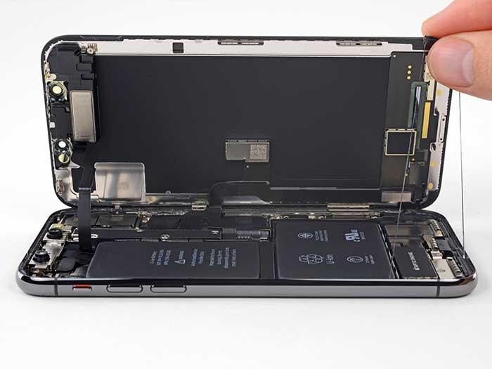 Водозащитная проклейка iPhone 10