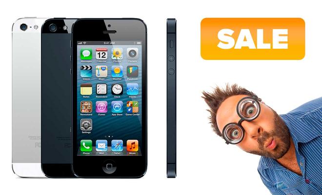 Распродажа запчастей на iPhone 5 в iReplace.ru, скидки до 50%