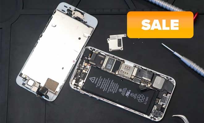 Сидишь дома? Почини свой iPhone! – Акция