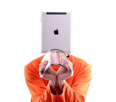 Тачскрин (сенсорное стекло) для iPad 3/4, цвет Белый фото 4