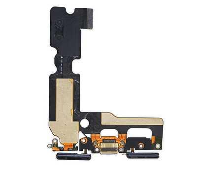 Шлейф с разъемом Lightning iPhone 7 (Black) фото 2