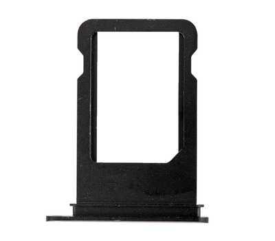 Лоток для SIM-карты iPhone 7, Jet Black фото 2