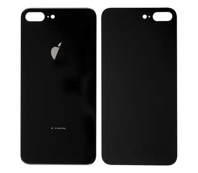 Заднее стекло для iPhone 8 Plus, Space Gray фото 1