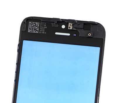 Стекло с рамкой для iPhone 5S/SE, Черное фото 4