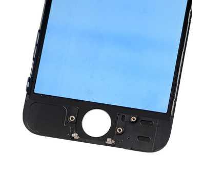 Стекло с рамкой для iPhone 5S/SE, Черное фото 5