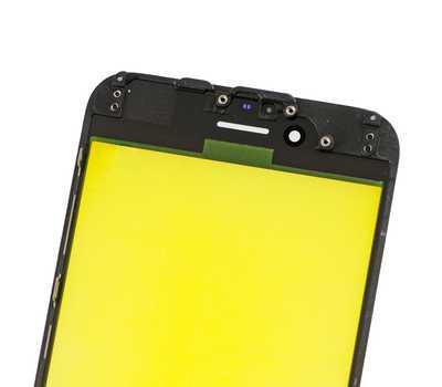 Стекло с рамкой для iPhone 6, Черное фото 4