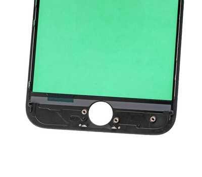 Стекло с рамкой для iPhone 7, Черное фото 5