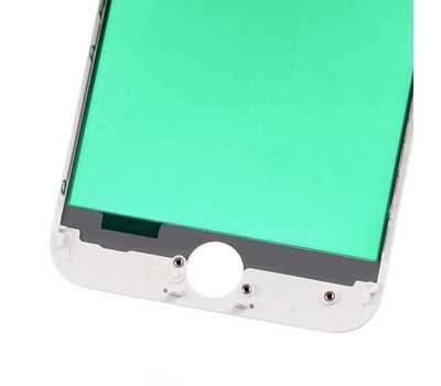 Стекло с рамкой для iPhone 7, Белое фото 5