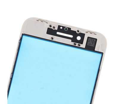 Стекло с рамкой для iPhone 8, Белое фото 6