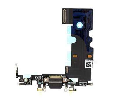 Шлейф с портом Lightning для iPhone 8, Black фото 1