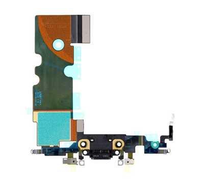 Шлейф с портом Lightning для iPhone 8, Black фото 2
