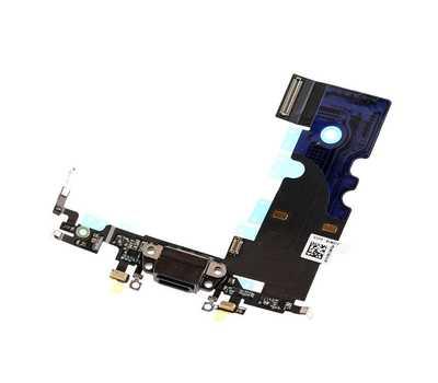 Шлейф с портом Lightning для iPhone 8, Black фото 3