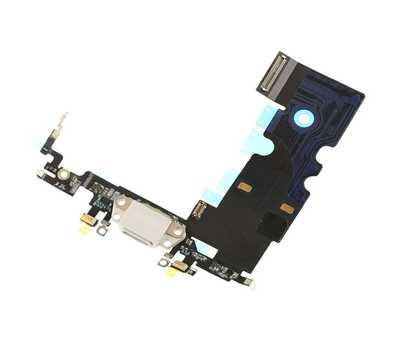 Шлейф с портом Lightning для iPhone 8, White фото 3
