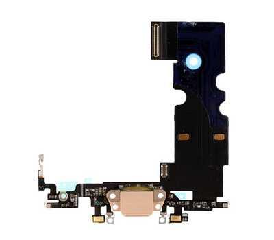 Шлейф с портом Lightning для iPhone 8, Gold фото 1