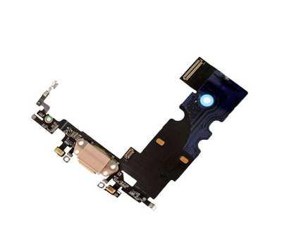 Шлейф с портом Lightning для iPhone 8, Gold фото 3