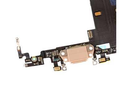 Шлейф с портом Lightning для iPhone 8, Gold фото 5