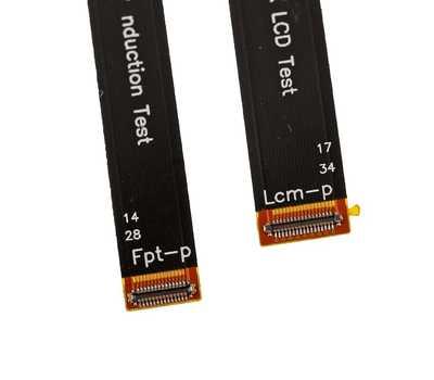 Кабель LCD тестировочный для iPhone X фото 4