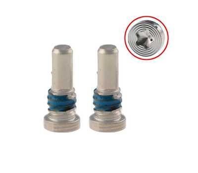 Нижние винты Pentalobe для iPhone 8/8 Plus, Silver фото 1
