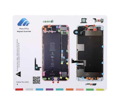 Магнитный коврик с картой винтов для iPhone 8 Plus фото 1