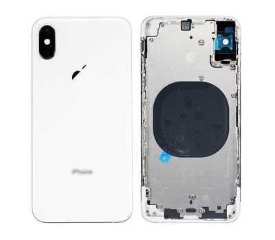Корпус с рамкой для iPhone Xs, Silver фото 1