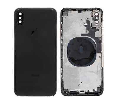Корпус с рамкой для iPhone Xs Max, Space Gray фото 1