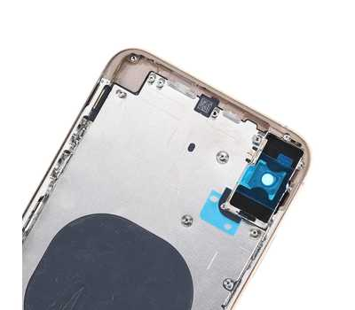 Корпус с рамкой для iPhone Xs Max, Gold фото 7