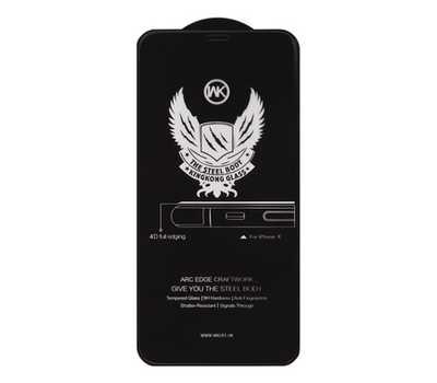 Защитное стекло для iPhone 6/6s WK Kingkong Series 4D Full Cover Curved Edge Tempered Glass (черное) фото 1