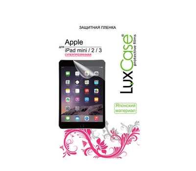 Защитная пленка LuxCase для iPad mini/mini 2/3 (Суперпрозрачная) фото 1