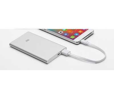 Xiaomi Mi Power Bank Slim 5000 mAh (Silver) фото 6