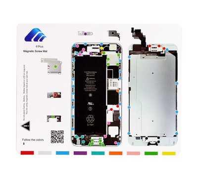 Магнитный коврик с картой винтов для iPhone 6 Plus фото 1
