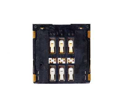 Коннектор SIM-карты для iPhone 6/6 Plus фото 2