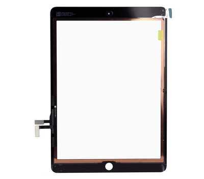 Тачскрин (сенсорное стекло) для iPad Air, цвет Черный фото 2