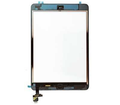 Тачскрин (стекло) в сборе для iPad mini/mini 2 Retina, цвет Черный фото 2