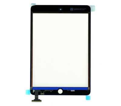 Тачскрин (стекло) для iPad mini/mini 2 Retina, цвет Черный фото 2