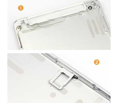 Корпус для iPad mini Wi-Fi + Cellular, цвет Серебристый фото 3