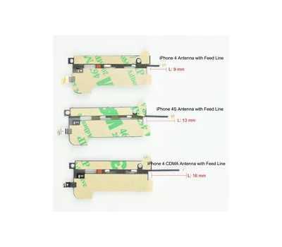 Кабель антенны для iPhone 4S нижний фото 3