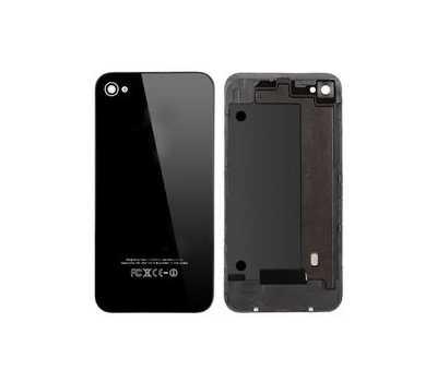 Задняя крышка для iPhone 4, Черная фото 1