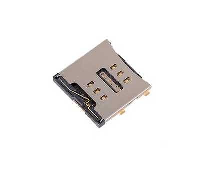 Коннектор SIM-карты для iPhone 4 фото 1