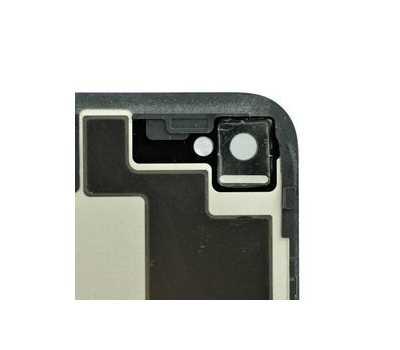 Задняя крышка для iPhone 4S, Черная фото 2