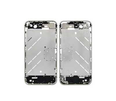 Средняя часть корпуса iPhone 4S, цвет Серебристый фото 1