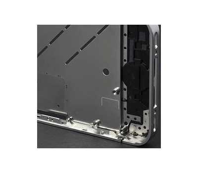 Средняя часть корпуса iPhone 4S, цвет Серебристый фото 4