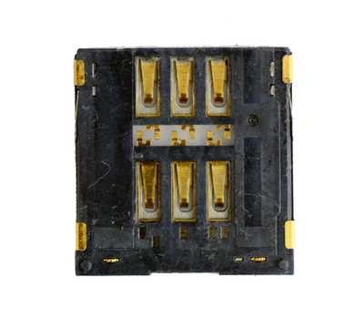 Коннектор SIM-карты для iPhone 5 фото 2