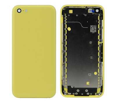 Корпус для iPhone 5C, цвет Желтый фото 1