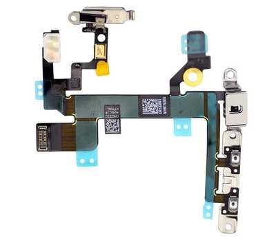 Шлейф Power и кнопок громкости для iPhone 5S фото 1