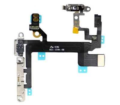 Шлейф Power и кнопок громкости для iPhone 5S фото 2