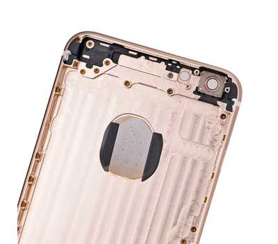 Алюминиевый корпус iPhone 6 Plus, цвет Gold фото 4