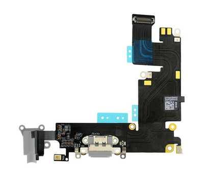 Шлейф с разъемом Lightning и mini-Jack для iPhone 6 Plus (Space Gray) фото 1