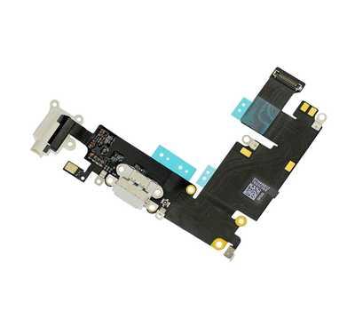 Шлейф с разъемом Lightning и mini-Jack для iPhone 6 Plus (Gold) фото 3