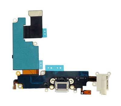 Шлейф с разъемом Lightning и mini-Jack для iPhone 6 Plus (Gold) фото 2