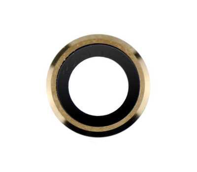 Линза задней камеры для iPhone 6/6S, Gold фото 1